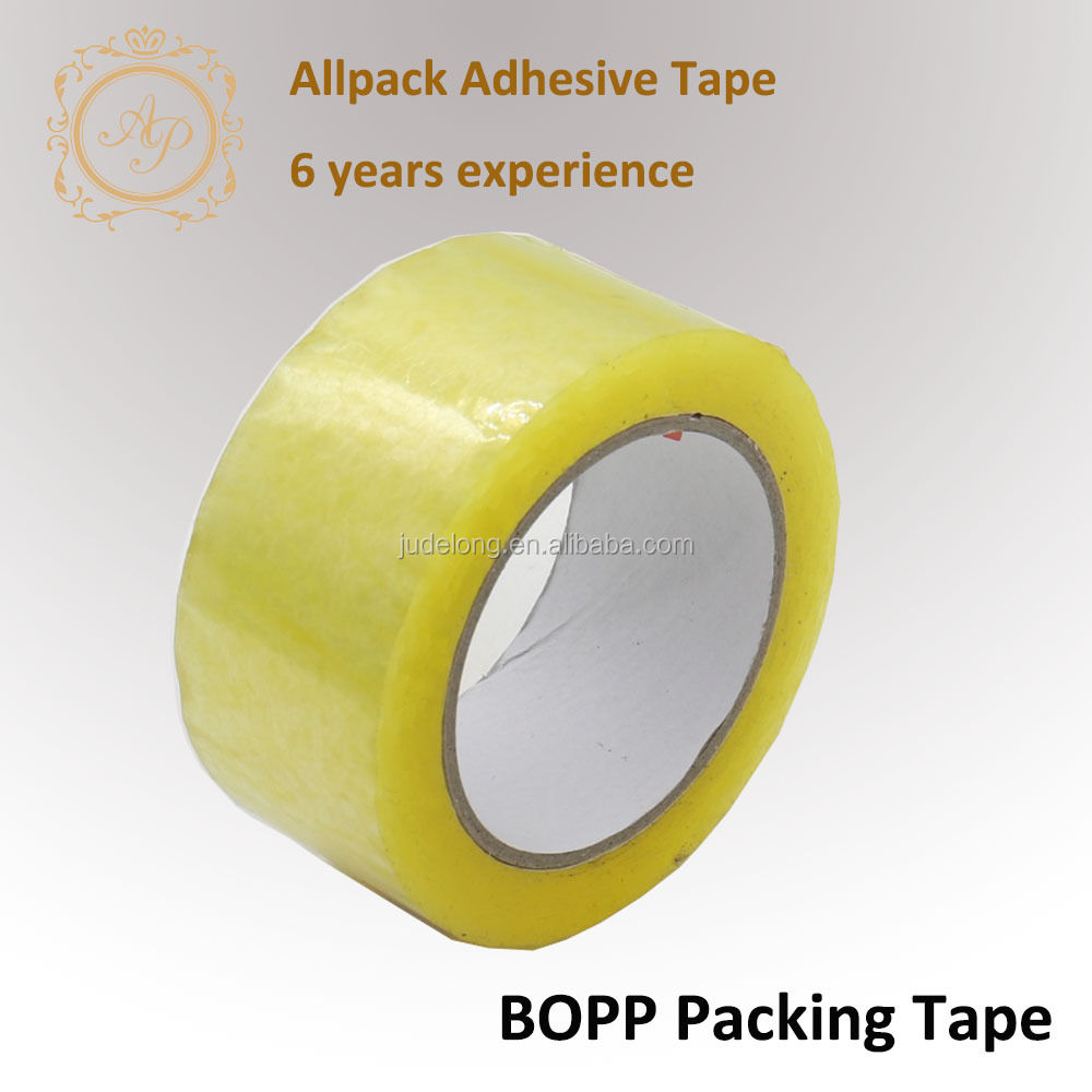 45mic Golden Color Packing Tape Scotch tape