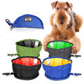 Fashional Foldable Collapsible Pet Water Bowl