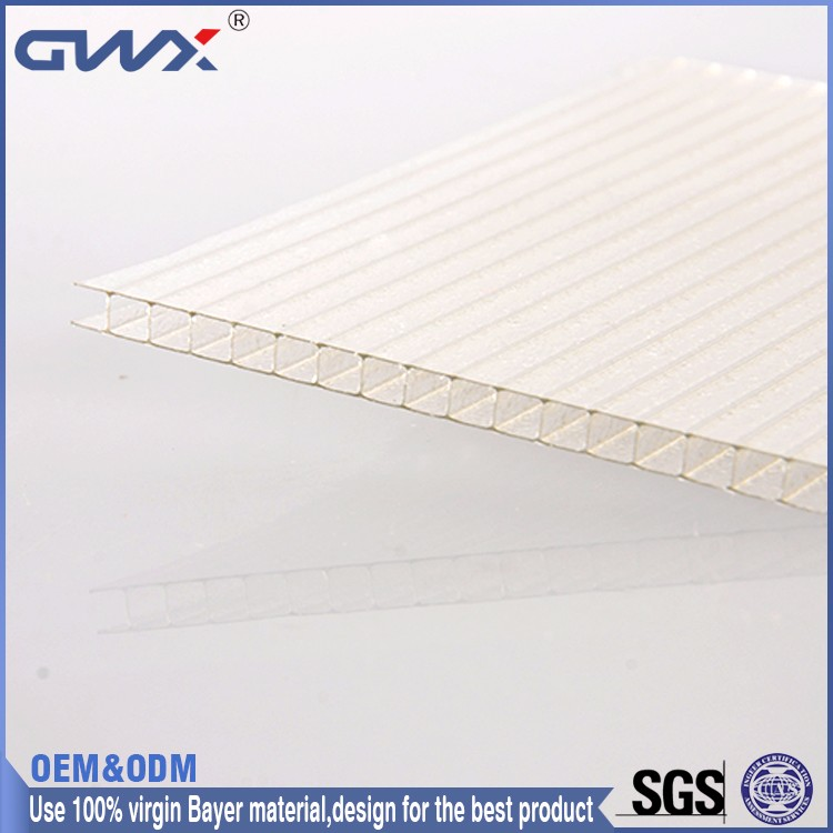 Fire Retardant Grade B1 Overpass Shelter Polycarbonate Solar Panel