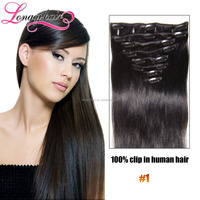 Whoesale Price Clip In Hair Extension, Clip On Malaysian Hair