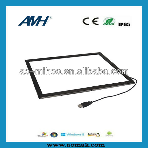 "USB 24"" Infrared multi touch screen overlay"