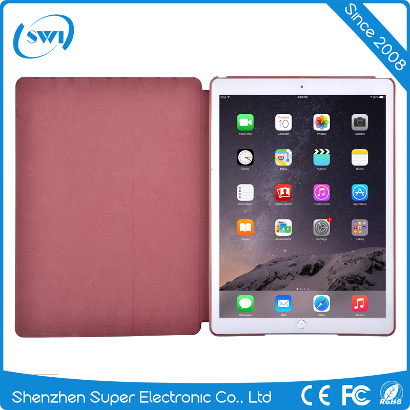 Hot Selling!!!Slim PC Leather Protective Cover Cases Stand For iPad Pro