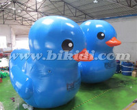 Airtight inflatable duck balloon, giant advertising duck for promotion K2085
