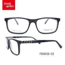 FB4038 Long service life fancy acetate eyeglasses frames sense 2017