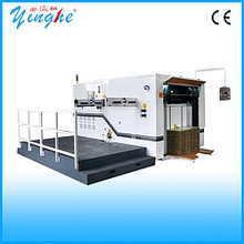 Large format digital adhesive paper label die cutter