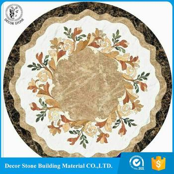 New product 2018 round big size marble medallion with A Discount