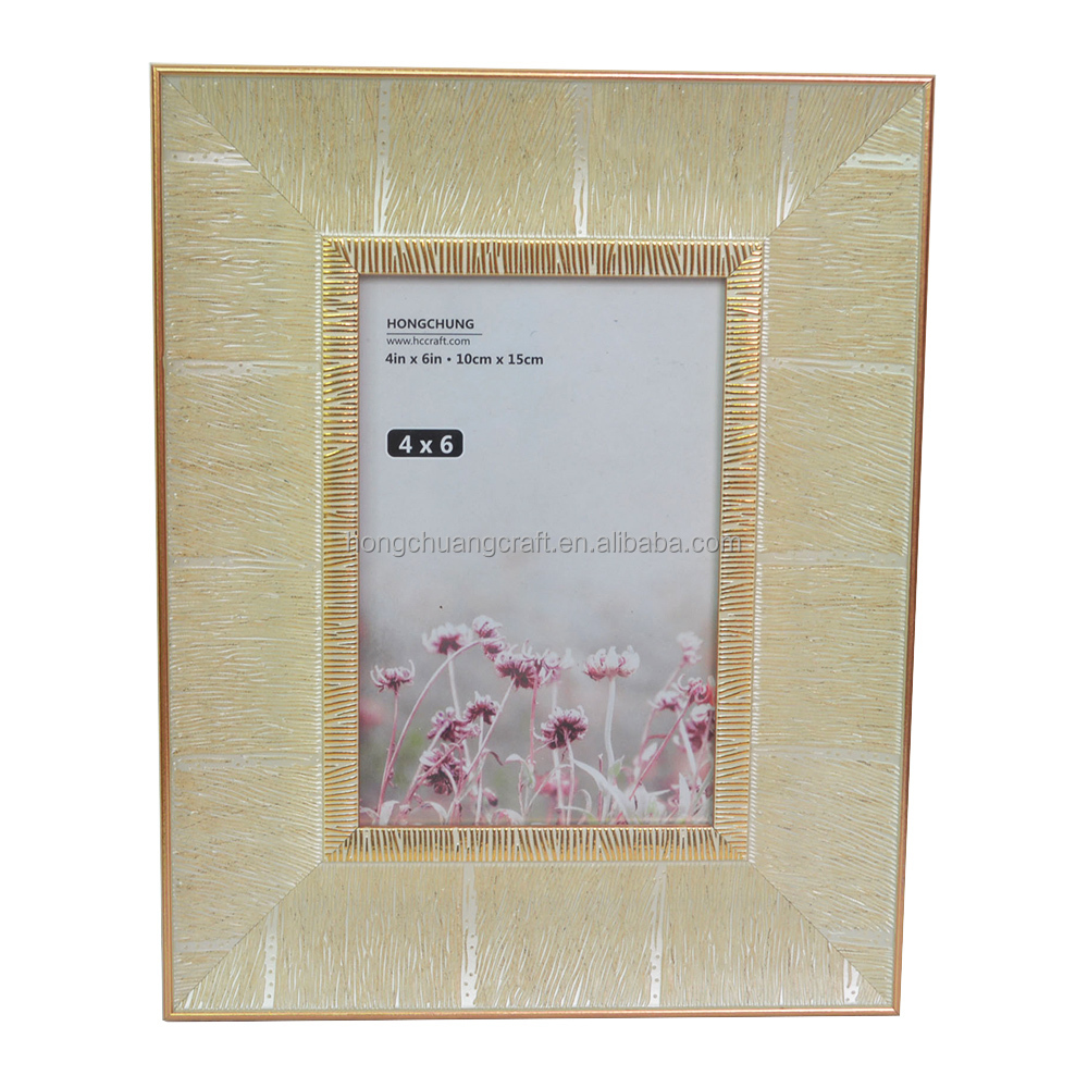 PS Rustic wood colorful wedding photo picture frame for table top decor