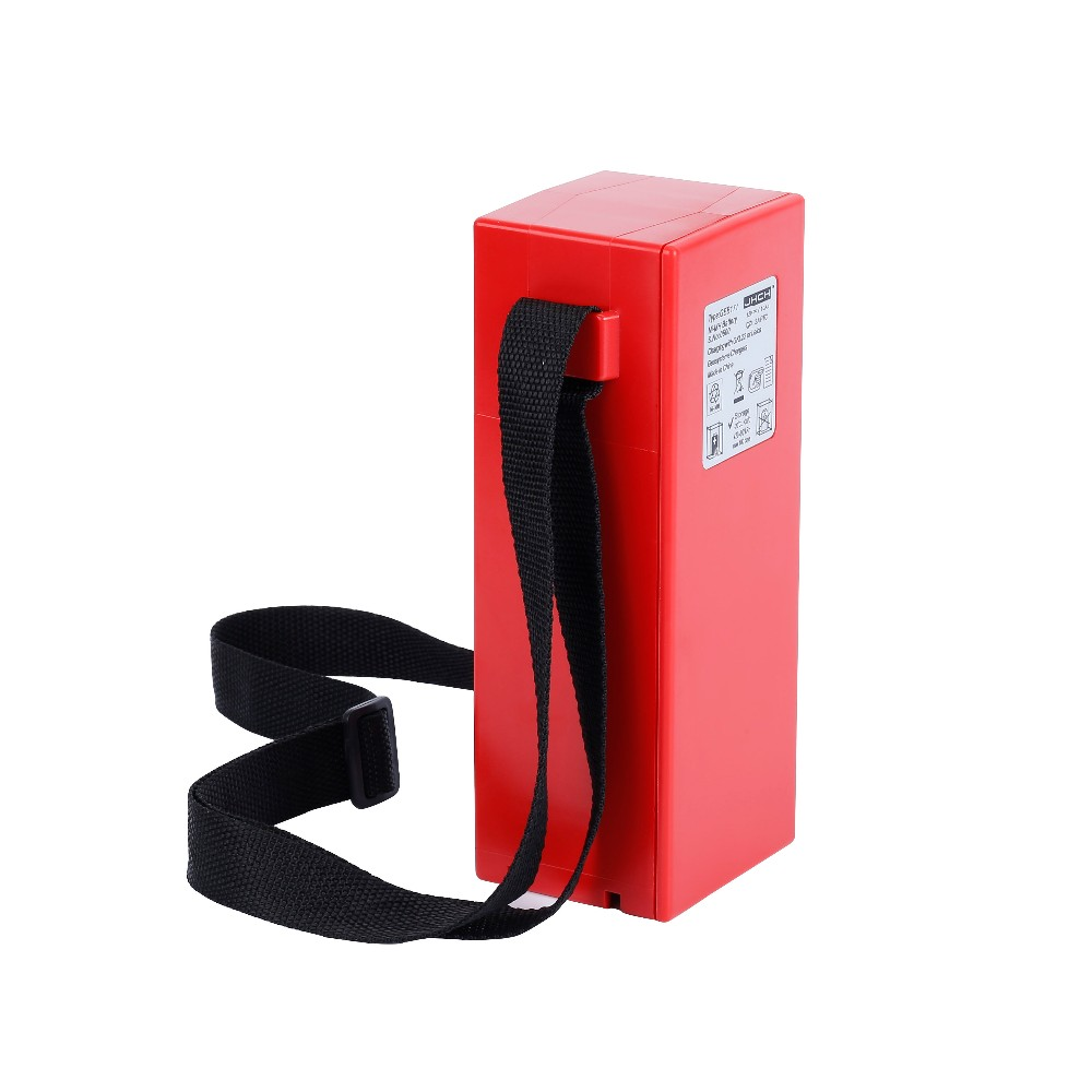 12V 10000mAh GEB171 red external battery for TPS100 TCA1800 TC2003 TPS100 TCA1800 TC2005
