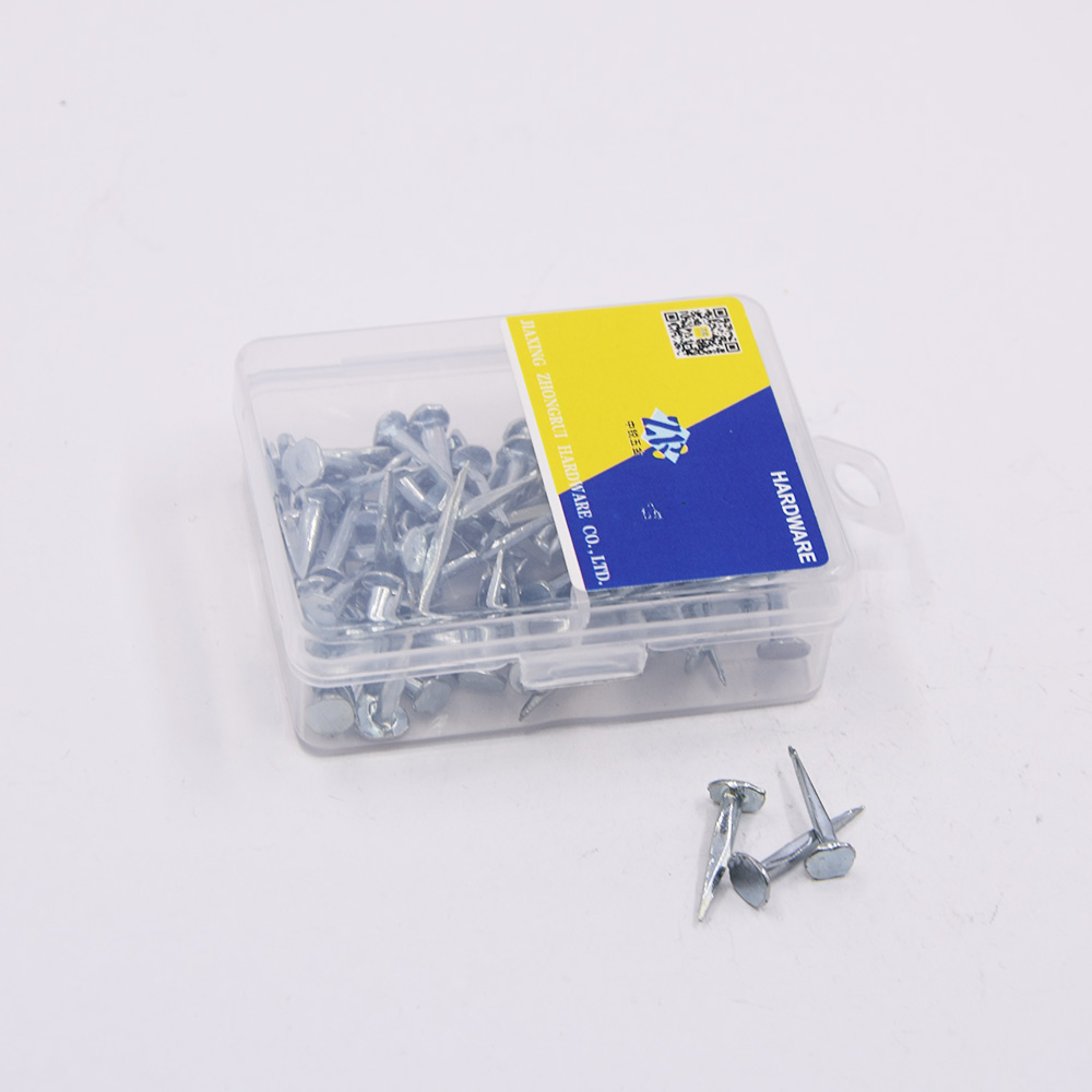 Best quality iron Q195 zinc galvanized plated shoe tack nails