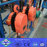 light duty materials electric chain hoist