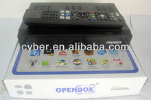iptv digital satellite receiver model openbox x5 pro support wifi, vod, iptv ,youtube hd iks receiver