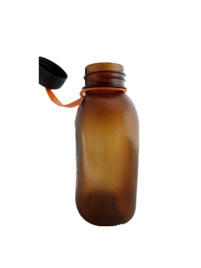 600ml/850ml portable big mouth plastic outdoor sports bottle with fliter