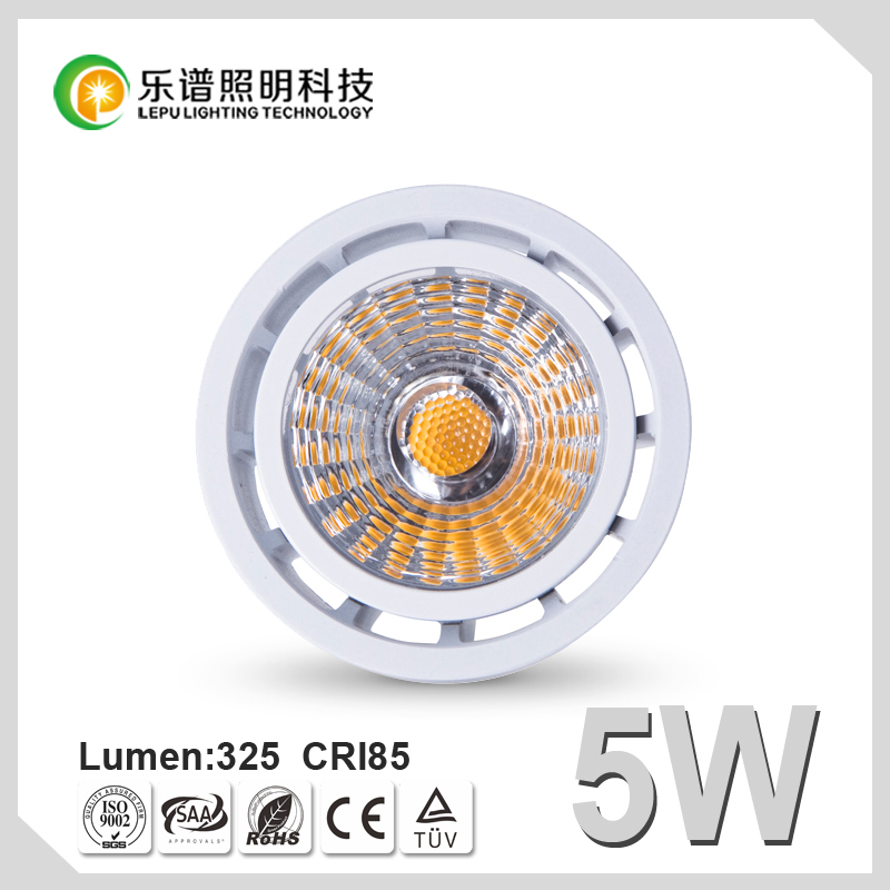 GU10 Dimmable MR16 5W COB LED Spotlight LED Energy Saving Lamp