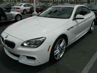 BMW 640i Gran Coupe Import/Export