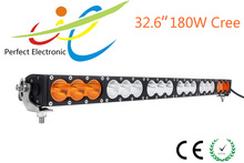32' 180w 10W offroad cree led light bar,single row,jeep , car,4x4 and truck