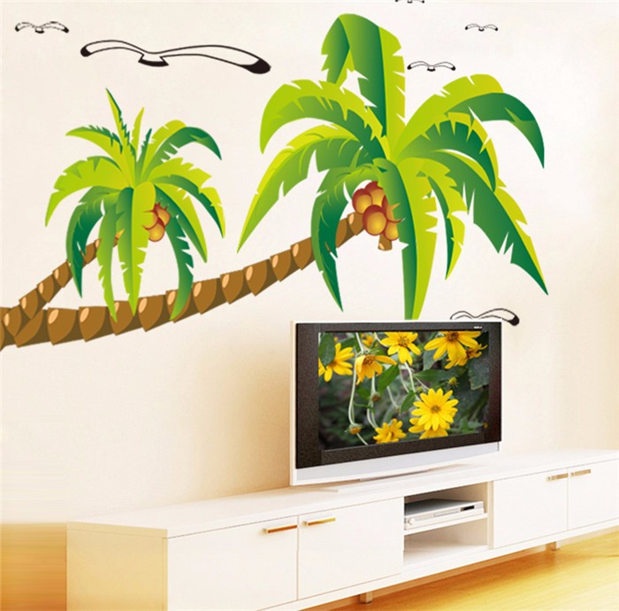 Wholesale Made In China Large Size Cartoon Wall Stickers