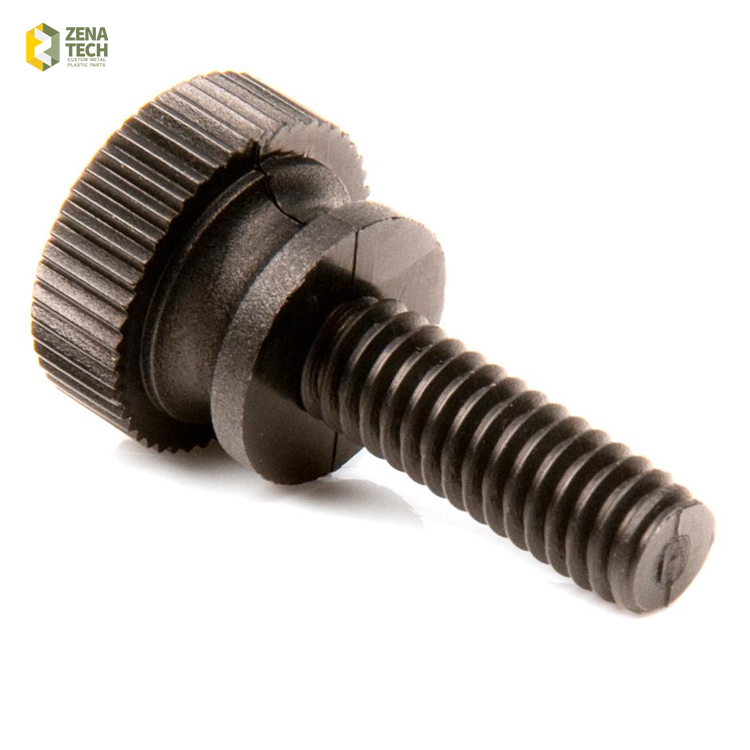 6-32 * 5/16 SLOTTED SAW CUT DRIVE KNURLED HEAD THUMB <strong>SCREW</strong>