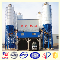 Mini size good quality malaysia concrete batching mixing plant for sale