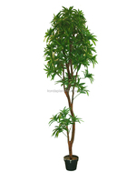 2016 best sellest artificial outdoor green bamboo plants