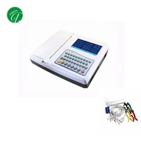 High Quality Portable 12 Leads 12 Channel Ecg Color Display Ekg/ecg/electrocardiograph Machine