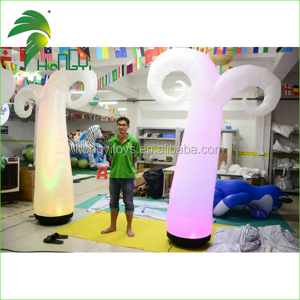 Party Decoration Inflatable Cone with LED Light for Christmas