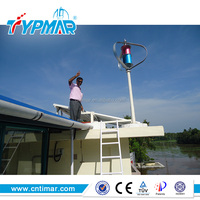 600W vertical axis maglev wind turbine for residential use