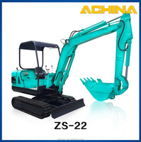 Mini crawler excavator types sales for ZS-22