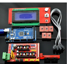 New and original 3D Printer ramps1.4 kit Mega 2560 R3 + RAMPS 1.4 Controller + A4988 Stepper Driver Module +2004 lcd controller