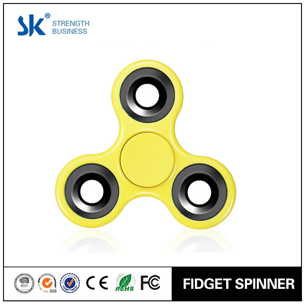 Sanke 2017 newest plastic toy bearing fidget toy to relieve stress pack of 10 hand spinner