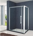 Aluminum Frame L-shape Sliding Shower Enclosure (KT6212)