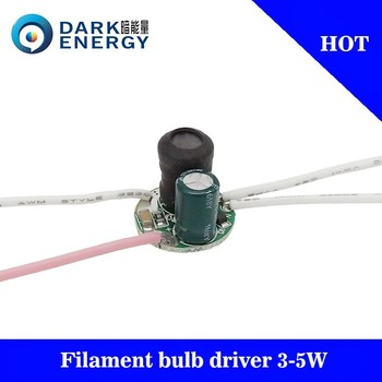1-5w led driver mini size 120MA 220v electronic driver for bulb