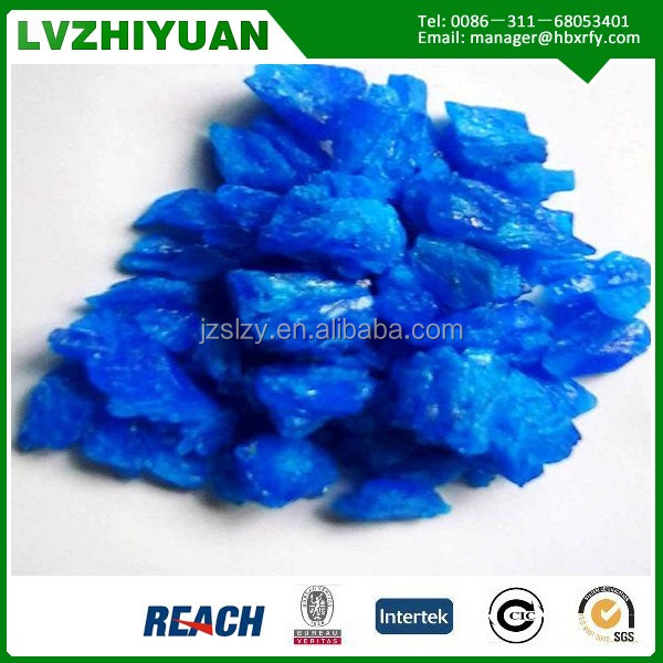 High Quality Feed Grade Blue Vitriol CuSO4.5H2O Copper Sulfate From Direct Manufacturer