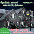 Motion RGB Outdoor Garden Laser Christmas Lights with Light-Sense,Moving Outdoor Star Projector