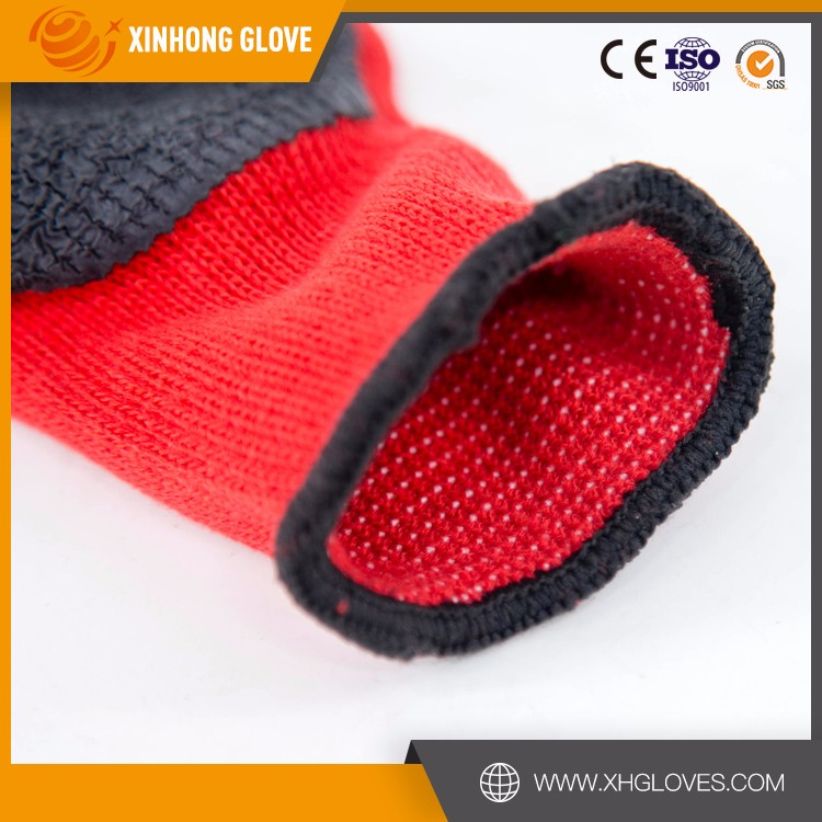 Xinhong hot sale factory price water proof nitrile working gloves/labor protection nitrile glove