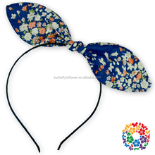 Newest Fancy Bunny Ear Headband Boutique Hair Large Bow Knot Headband Head Wrap Children Kids Girls Hair Accessories