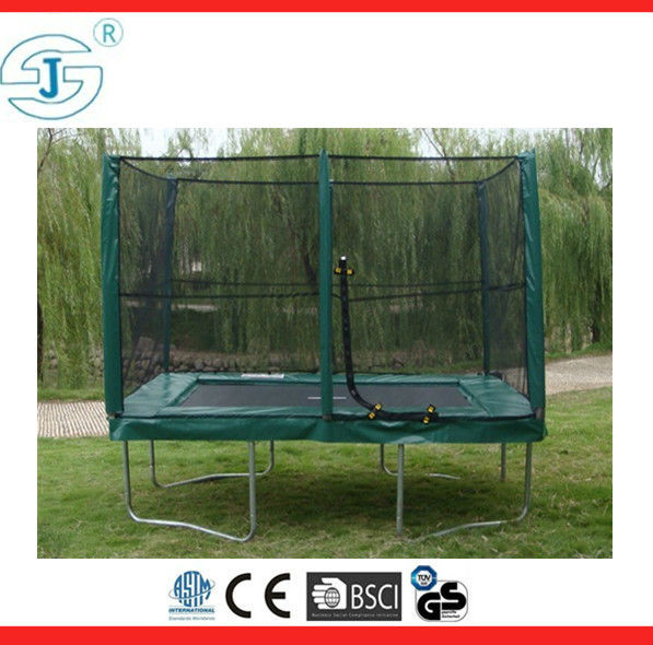 2016 Outdoor Rectangular Trampoline With Safety Net