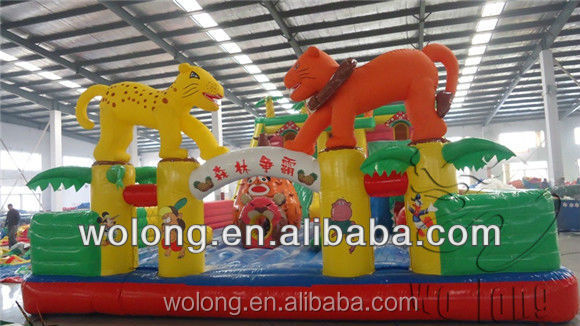 commercial slide kids jumping slide / inflatabe slide on sale !!!