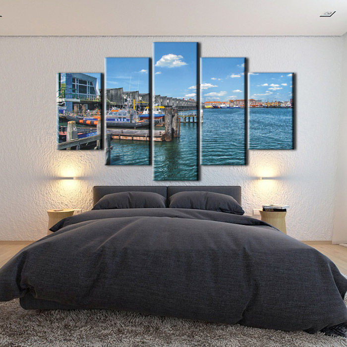 Wholesale Custom Scenery Photo Printing Canvas