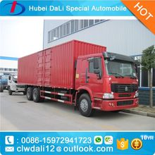 Chinese SINOTRUK HOWO Box Truck 6x4 Van Cargo Truck for sale,CLW Van Truck for sale, Mini Cargo Van,