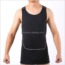 Hot-selling Style Men Tight-fitting Sport / Gym / Basketball Vest Quick-drying