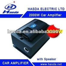 2000W car amplifier 4 channel with high power subwoofer