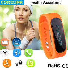 Outdoor parter Sport Smart Bluetooth Bracelet with LED display call/SMS