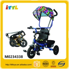Wholesale cheap tricycle plastic tricycle kids bike 2 seat children tricycle