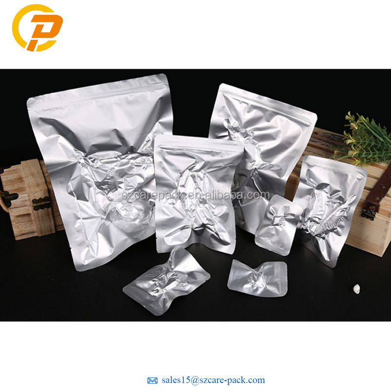 Custom Printed Aluminum Foil Frozen Food Plastic Vacuum Bag Pouch packing bag