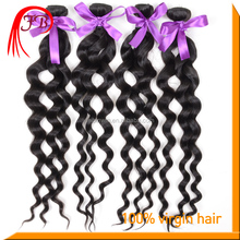 brazilian natural color human virgin loose curly weave hair extensions