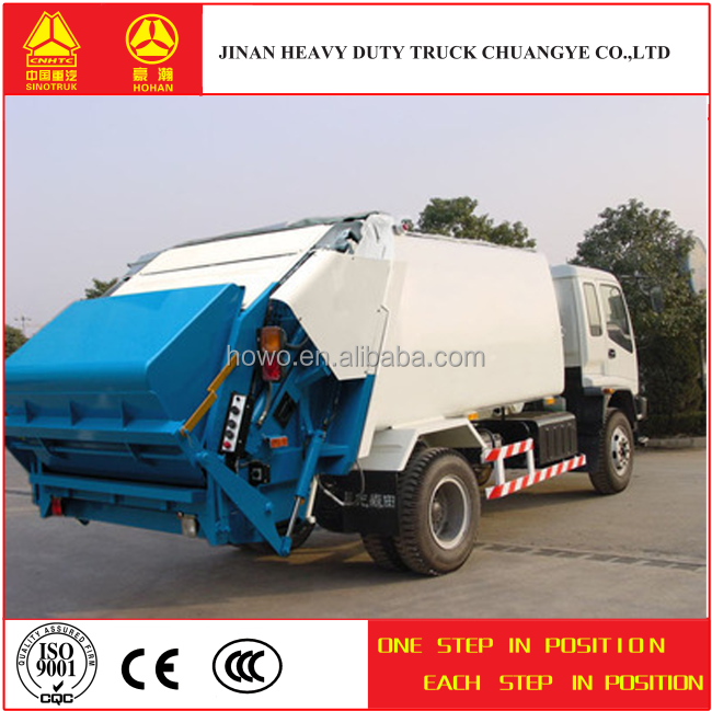 Sinotruk howo imported garbage truck