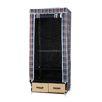 New easily installed portable folding wardrobes for small spaces