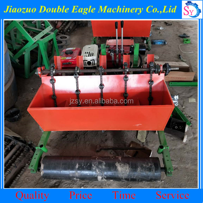 factory direct sale gasoline engine hand planter for garlic