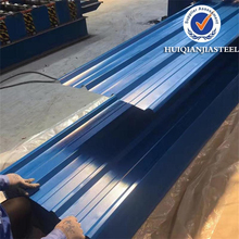 Price for quality long span color coated corrugated metal roofing sheet