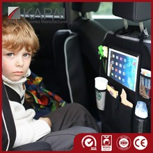 Car backseat organizer with Ipad holder